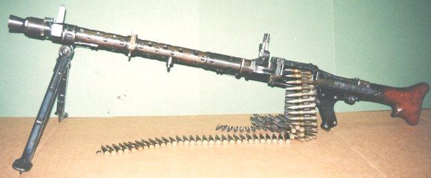 maschinengewehre im ersten weltkrieg